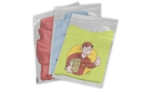 Clear Garment Packing Bags Self Seal with Child Warning