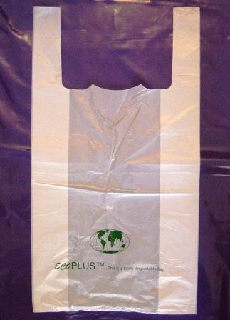 how a degradable carrier bag looks