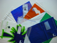 top view of a selection of available mailing bags