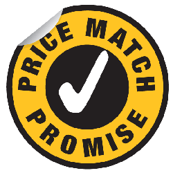 poly bag price match promise logo